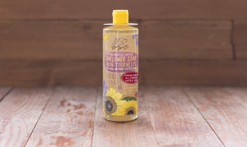 Lavender Sunflower Castile Liquid Soap- Code#: PC0134