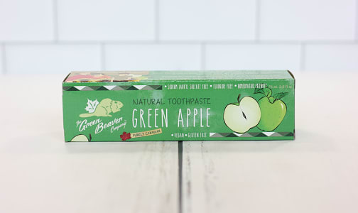 Organic Green Apple Toothpaste- Code#: PC0168