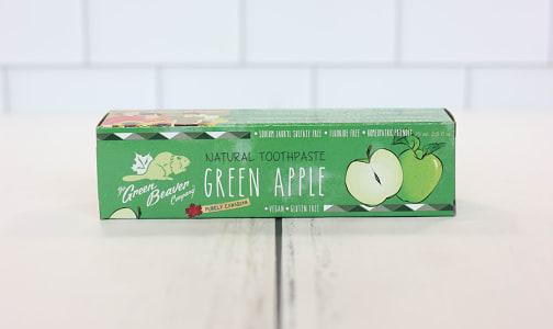 Organic Green Apple Toothpaste- Code#: PC0168