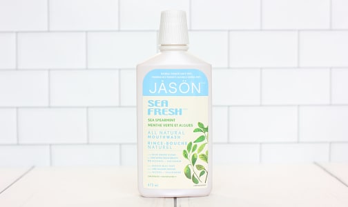 Sea Fresh Spearmint Mouthwash- Code#: PC0175