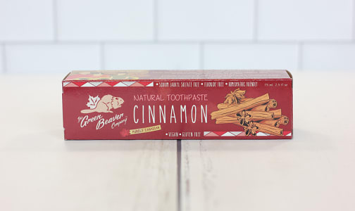 Organic Cinnamon Toothpaste- Code#: PC0177