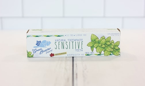 Sensitive Toothpaste, Fresh Mint- Code#: PC0178