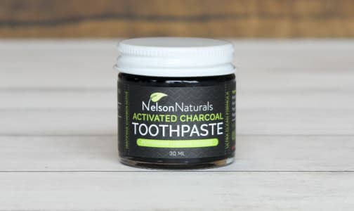 Activated Charcoal Toothpaste - Peppermint- Code#: PC0196