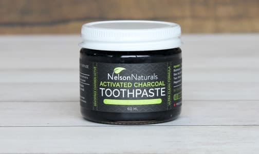 Activated Charcoal Peppermint Toothpaste- Code#: PC0197