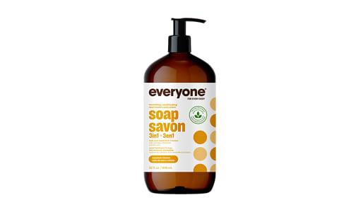 3-in-1 Soap - Coconut + Lemon- Code#: PC0222
