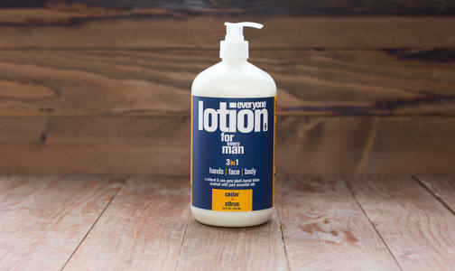 Every Man Lotion Cedar & Citrus- Code#: PC0240