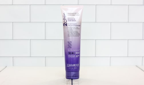 2chic® Ultra Repair Hair Mask - Blackberry & Coconut Milk- Code#: PC0247