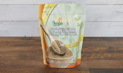 Organic Milled Brown Flax Seed- Code#: PC0251