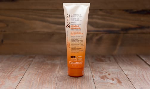 2Chic Ultra Volume Tangerine Papaya Shampoo for Fine Limp Hair- Code#: PC0290