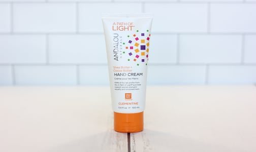 A Path of Light® Clementine Hand Cream- Code#: PC0313