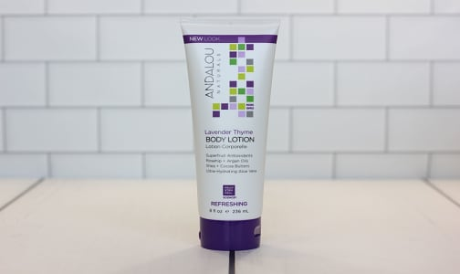 Lavender Thyme Refreshing Body Lotion- Code#: PC0325