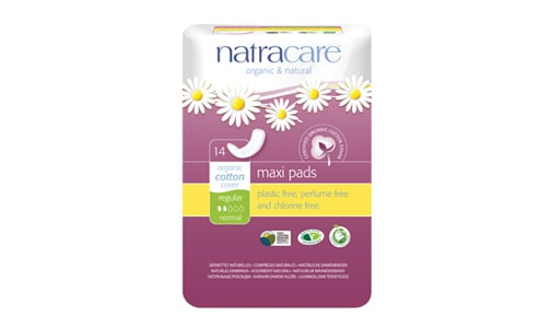 Organic Natural Maxi Pad - Regular- Code#: PC0402