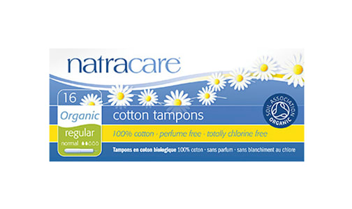 Organic Tampons with Applicator - Regular- Code#: PC0404