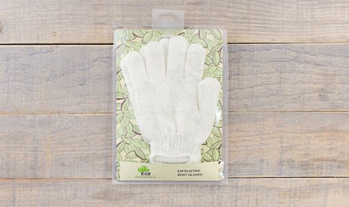 Bamboo Bath Gloves- Code#: PC0453