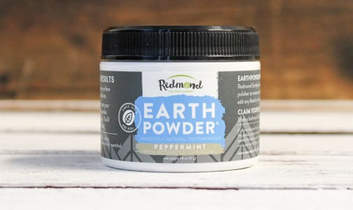 Earthpowder Peppermint W/Charcoal- Code#: PC0459