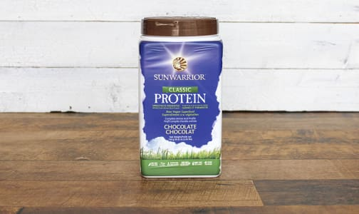 Organic Classic Rice Protein Chocolate- Code#: PC0532