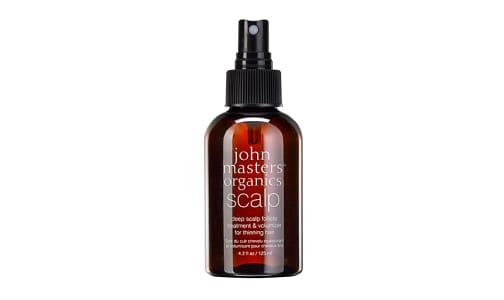 Organic Deep Scalp Follicle Treatment & Volumizer For Thinning Hair- Code#: PC0648