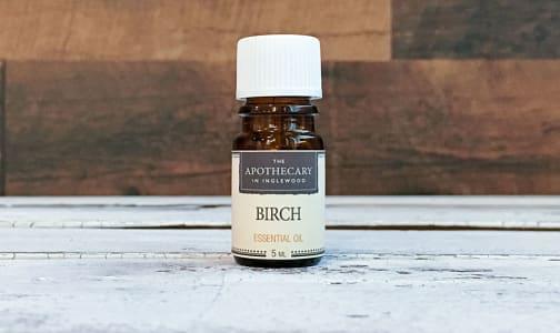 Birch, Essential Oil- Code#: PC0697