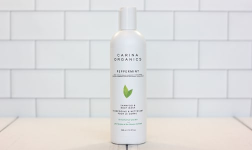 2-in-1 Shampoo & Body Wash - Peppermint- Code#: PC0728