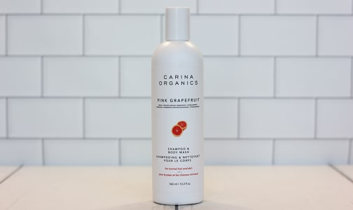 2-in-1 Shampoo & Body Wash - Pink Grapefruit- Code#: PC0729