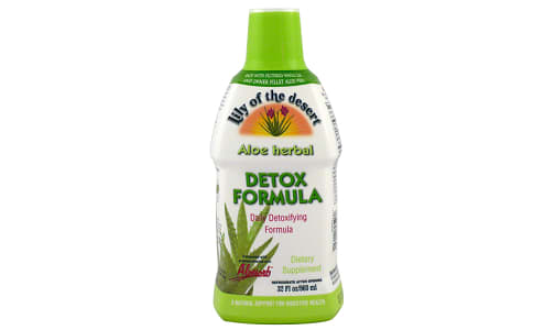 Aloe Herbal Detox Formula- Code#: PC0741