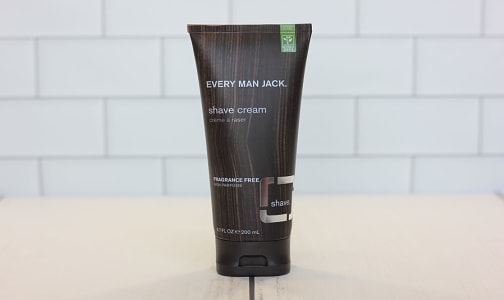 Shave Cream, Fragrance Free- Code#: PC0762