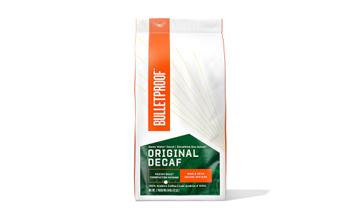 The Original Whole Bean Coffee, Decaf- Code#: PC0777