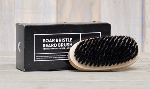 Boar Bristle Beard Brush- Code#: PC0805