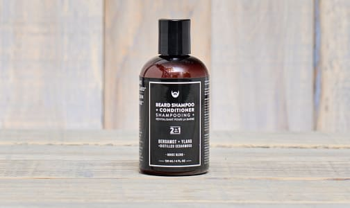 Beard Shampoo - Bergamot + Ylang with Distilled Cedarwood- Code#: PC0821