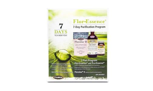 Flor.Essence 7-Day Detox Kit- Code#: PC0861