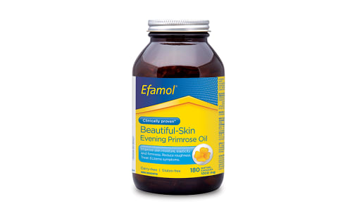 Efamol®  Beautiful-Skin - Evening Primrose Oil (1000mg)- Code#: PC0869