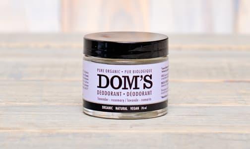 Organic Lavender & Rosemary Deodorant- Code#: PC0949