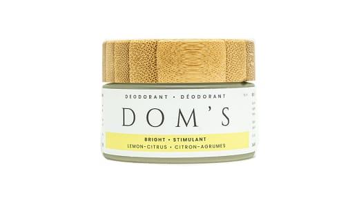 Organic Lemon Citrus Deodorant- Code#: PC0952