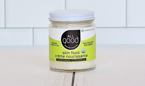 Organic Lemongrass Coconut Oil Skin Food- Code#: PC0963