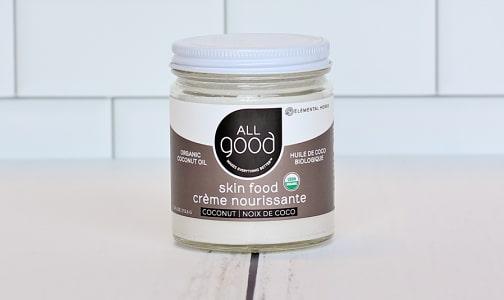Organic Coconut Oil Skin Food- Code#: PC0964