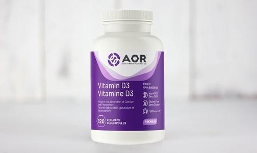 Vitamin D3- Code#: PC0989
