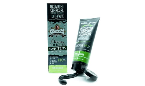 Charcoal Toothpaste - Wintergreen- Code#: PC10105