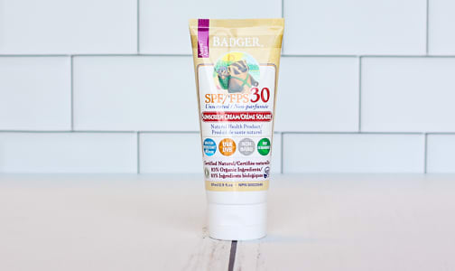 SPF 30 Sunscreen Unscented- Code#: PC1014