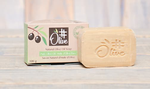Organic Pure Olive Oil Soap- Code#: PC1051