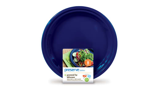 On the Go Plateware - Large Midnight Blue- Code#: PC10610
