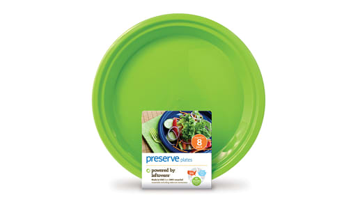 On the Go Plateware - Large Apple Green- Code#: PC10611