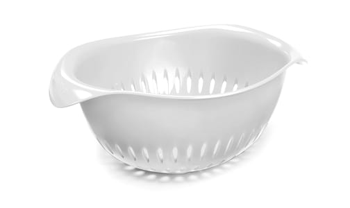 Colander - Small White- Code#: PC10636