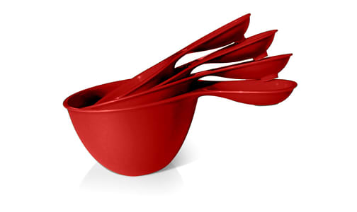 Dry Measure Cups - Tomato Red- Code#: PC10640