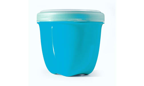 Mini Round Food Storage - Aqua- Code#: PC10642