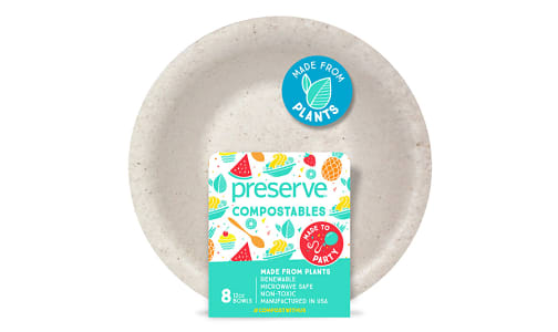 Compostable Bowls - Natural- Code#: PC10653