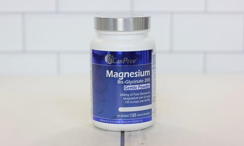 Magnesium Bis-Glycinate 200 Powder- Code#: PC1088