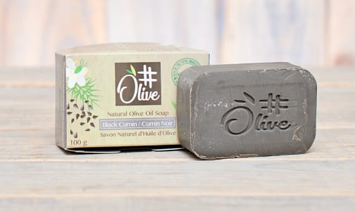 Organic Black Cumin Natural Olive Oil Soap- Code#: PC1097