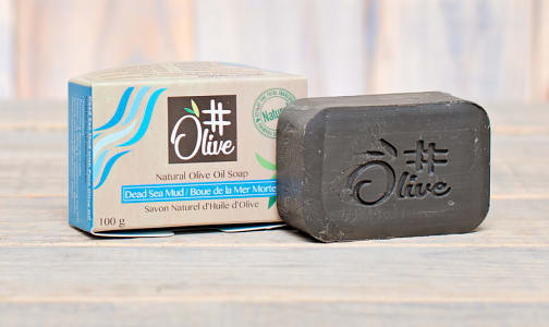 Organic Dead Sea Mud Natural Olive Oil Soap- Code#: PC1113