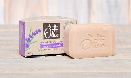 Organic Lavender Natural Olive Oil Soap- Code#: PC1138