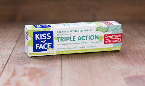 Triple Action Fluoride Free Cool Mint Gel- Code#: PC1220